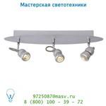 16956/15/36 Lucide TIRY Spot LED 3x5W Dimb 40/10/10cm Silber спот