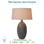 Настольная лампа 13508/81/30 Lucide JANEKE Tischl. E27 H55 Schirm D37cm Schwarz