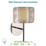 Lucide HOUSTON Wandl.. G9/28W D16/H15cm Opaal Glas/Silber 38203/16/12 настенный светильник