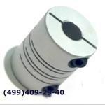 SRB-22C 6x8 Муфта для энкодеров разрезная,  диаметр 22мм, с зажимным кольцом, диаметры валов 6*8мм