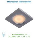 Lucide HAHNE Spot IP65 MR16/50W Viereckig Amuminiu потолочный светильник 17107/01/12
