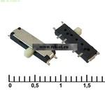 Движковые переключатели SMD IS-1300A-W (от 500 шт.)