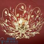 VERDI CEILING LAMP 6L., IVORY&GOLD арт.484241 Shuller