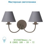 31233/02/41 Lucide CAMPAGNE Wandl. 2xE14 (Schirm 61009/16/36) Taup настенный светильник