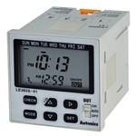 Многофункциональный компактный цифровой таймер Autonics LE365S-41 с недельным / годовым циклом работ