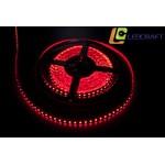 LED лента SMD 3528 9.6 Вт на метр 120 на метр IP 33 Красный