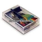 PK400-3 - комплект цветных микрозажимов (10шт.) диаметр 0,2 мм.