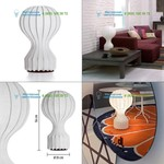 F2601009 Flos cocoon, настольная лампа > Desk lamps