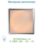 Потолочный светильник Lucide GENTLY Deckenl. Viereckig 43cm T5/32W Alu 79156/32/12
