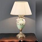 935/1L/CG Green Ivory Камея Nervilamp, Настольная лампа