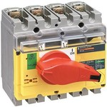 Выключатель-разъединитель INTERPACT INV160 4П экстренного отключения | арт. 31185 Schneider Electric