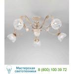 1864/5PL Bianco oro / Glass 577 потолочная люстра Masca