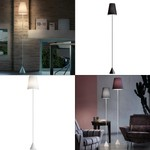 Светильник Lucilla Floor Light satin nickel/cotton Modoluce, E27 1x70W Halogen