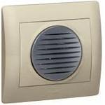 Звонок электронный Galea Life, 220В, 10 мелодий, лицевая панель Антрацит | арт. 775717 | Legrand