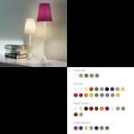 Lucilla Table lamp small white Base/ Cotton светильник Modoluce, E14 1x42W