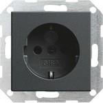 275528 System 55 Розетка с заземляющими контактами 16 А / 250 В без распорных захватов