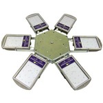 Turtle 35W2x4. 4шт + консоль + 1шт источника тока 150Вт, 700mA (LI0150-215070-IP66-NI). Суммарная мощность 150Вт, 16800л