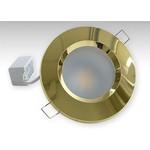 Точечный светильник TH-100-5W-g (золотой)