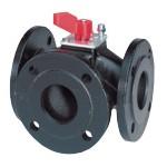 Клапан поворотный трехходовой VBF21: VBF21.40, VBF21.50, VBF21.65, VBF21.80, VBF21.100