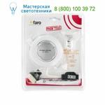 Faro KIT LED white recessed GU10 3W warm light 43215, точечный светильник