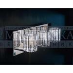 0CHAR0A30 De Majo настенный светильник Charlotte A3 хромированная сталь-прозрачный