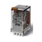 Миниатюрные реле общего назначения Втычные; Контакты AgNi; 2CO 10A; блокируемая кнопка Тест + индикатор 220V DC катушка