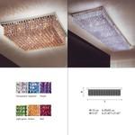Aurea 55 PL 6 ceiling light светильник Masiero, G9 6x60W