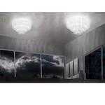Потолочый светильник Vistosi Ecos PLECOS90BCCR
