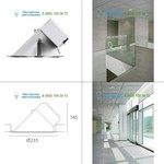 Gray Artemide Architectural L596500, светильник > Ceiling lights > Recessed lights