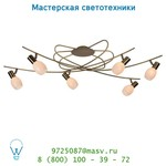 Потолочный светильник Lucide BIRDIES Deckel. 6xE14 L120cm Brons 12121/06/03