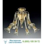 Потолочная люстра 986/6 Oro 24Kt Vetri Lamp