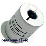 SRB-22C 8x8Муфта для энкодеров разрезная,  диаметр 22мм, с зажимным кольцом, диаметры валов 8*8мм