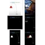 Luceplan black D13Ed.-Z, торшер > Arc floor lamps
