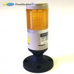 PLG-101-Y (12VDC) Светодиодная колонна 12 Вольт постоянного тока, желтого цвета диаметр 45 мм Menics