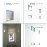 D27/30v.1 alu Luceplan, светильник > Wall lights > Recessed