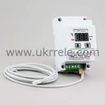 Терморегулятор цифровой с трансформаторным блоком питания на DIN-рейку РТ-16/D1-Т (16А/3кВт)