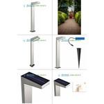 178124716 stainless steel Philips, Outdoor lighting > Floor/surface/ground > Bollards