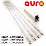 Светодиодный комплект для самостоятельной сборки LED светильников (4 линейки + блок питания)