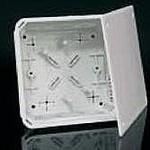 Коробка ПВХ с крышкой V 125 Е 150х150х77 мм