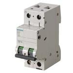 Автоматический выключатель 2-пол. 63A C, 6КА, 230/400V, 5SL6263-7, Siemens, в наличии