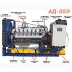 Дизельная электростанция АД350 (АД-350), АД-350С, ЭД350 (ЭД-350), ДЭС-350, ДУЭ-350, АСДА-350, ДГ-350, ДГА-350, ДГУ-350 (ДГУ350) или ПЭС-350.
