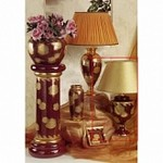 96252P Harmony red Sarri, Настольная лампа