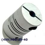 SRB-22C 4x4 Муфта для энкодеров разрезная,  диаметр 22мм, с зажимным кольцом, диаметры валов 4*4мм