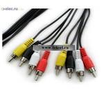 Аудио/видео шнуры 4RCAm-4RCAm 1.5m (от 100 шт.)