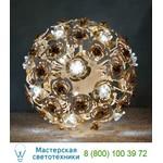 1839/SFB Bianco oro / Glass 525 настольная лампа Masca