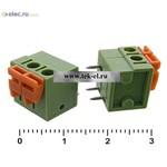 Клеммники нажимные XY122R-2 (5,08mm) (от 500 шт.)