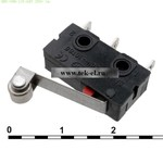 Микропереключатели SM5-00N-115-G45 250v 3a (от 500 шт.)