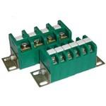 Зажимы наборные проходные ЗН28-4П16, ЗН28-16П40, ЗН28-16П63 и блоки зажимов БЗН28-П