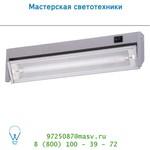 79154/08/36 Lucide LUKA Armatur fur kasten unterbau T5/8W Silber Grau настенный светильник