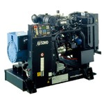 SDMO KM 40 G (32 кВт /40 кВА) трехфазный газовый поршневый
